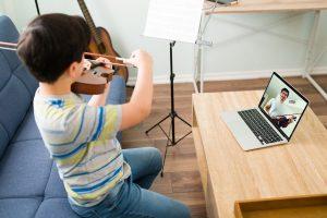 apprendre le violon
